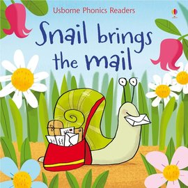 Usborne Usborne Snail Brings the Mail