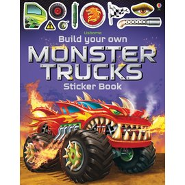 Usborne Usborne Sticker Book Build Your Own Monster Trucks