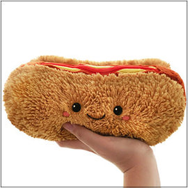 Squishable Squishable Mini Hot Dog 8 inch CLOSEOUT/ NO RETURN