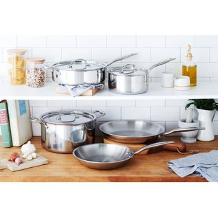 Heritage Steel/Hammer Stahl Heritage Steel Core Cookware Set 8 pc