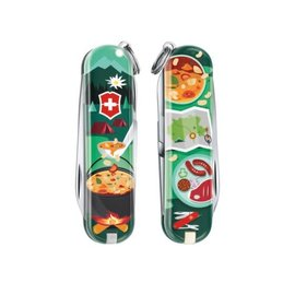 Victorinox Swiss Army Classic SD Pocket Knife Limited Edition Swiss Mountain Dinner