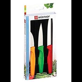 Wusthof Wusthof Zest 3pc Paring Knife Set Multi Color in Hanging Box