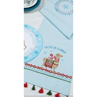 Kay Dee Fa La La Llama Table Runner CLOSEOUT/ NO RETURN