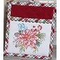 Kay Dee Our Christmas Story Embroidered Pocket Mitt CLOSEOUT/ NO RETURN