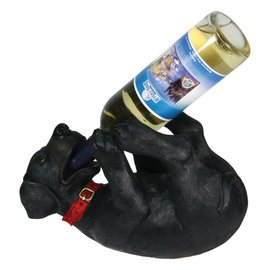 Rivers Edge Rivers Edge Black Lab Wine Bottle Holder