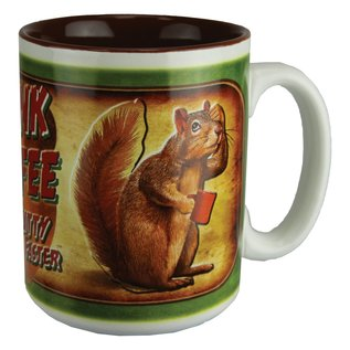 Rivers Edge Rivers Edge Drink Coffee Mug 16 oz