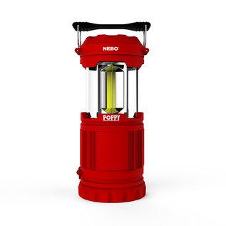 Alliance Sports Group NEBO Poppy Combination Lantern & Spotlight Red