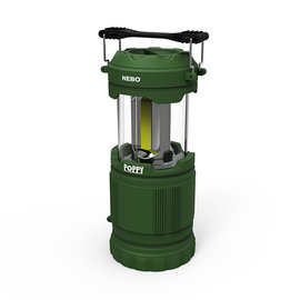 Alliance Sports Group NEBO Poppy Combination Lantern & Spotlight Green