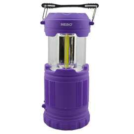 Alliance Sports Group NEBO Poppy Combination Lantern & Spotlight Purple