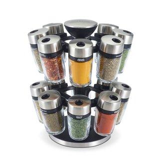 Cole & Mason Cole & Mason Herb & Spice Carousel 16 Jar