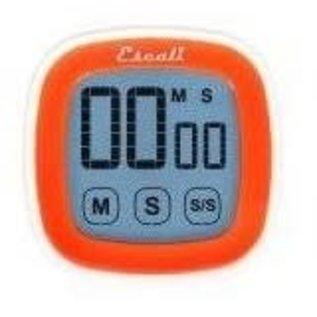 Escali Touch Screen Digital Timer Orange