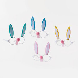 One Hundred 80 Degrees One Hundred 80 Degrees Bunny Glasses 6 inch Assorted CLOSEOUT/ NO RETURN