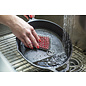 Lodge Cast Iron Lodge Silicone & Chainmail Scrubbing Pad Red