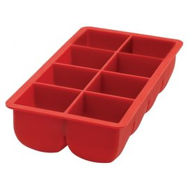 Harold Import Company Inc. HIC Big Block Ice Tray Silicone