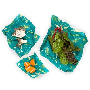 Bees Wrap Bee's Wrap ASSORTED 3 pack Oceans