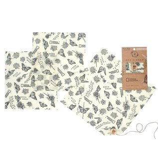 Bees Wrap Bee's Wrap EXPLORER LUNCH PACK Monarch Print