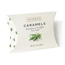 McCrea's Candies McCrea's Rosemary Truffle Sea Salt Caramels 1.4 oz