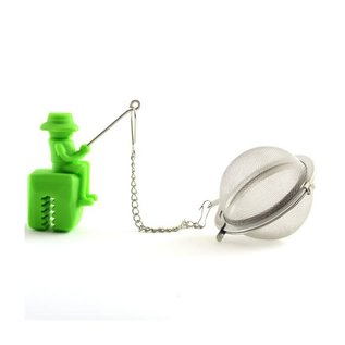 Norpro Norpro Stainless Steel & Silicone Fisherman Tea Infuser