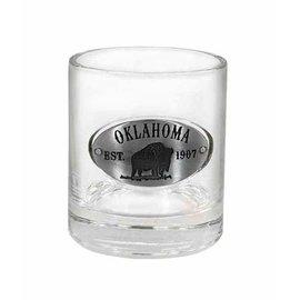AmericaWare AmericaWare Oklahoma Whiskey Glass