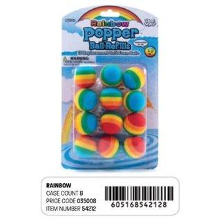 Hog Wild Popper Ball Refill Rainbow