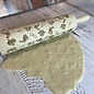 White Peacock Productions Engraved Rolling Pin Bunny
