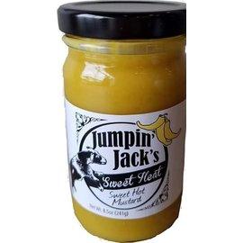Jumpin Jack's Jumpin' Jack's Sweet Heat Mustard 8.5 oz MIO