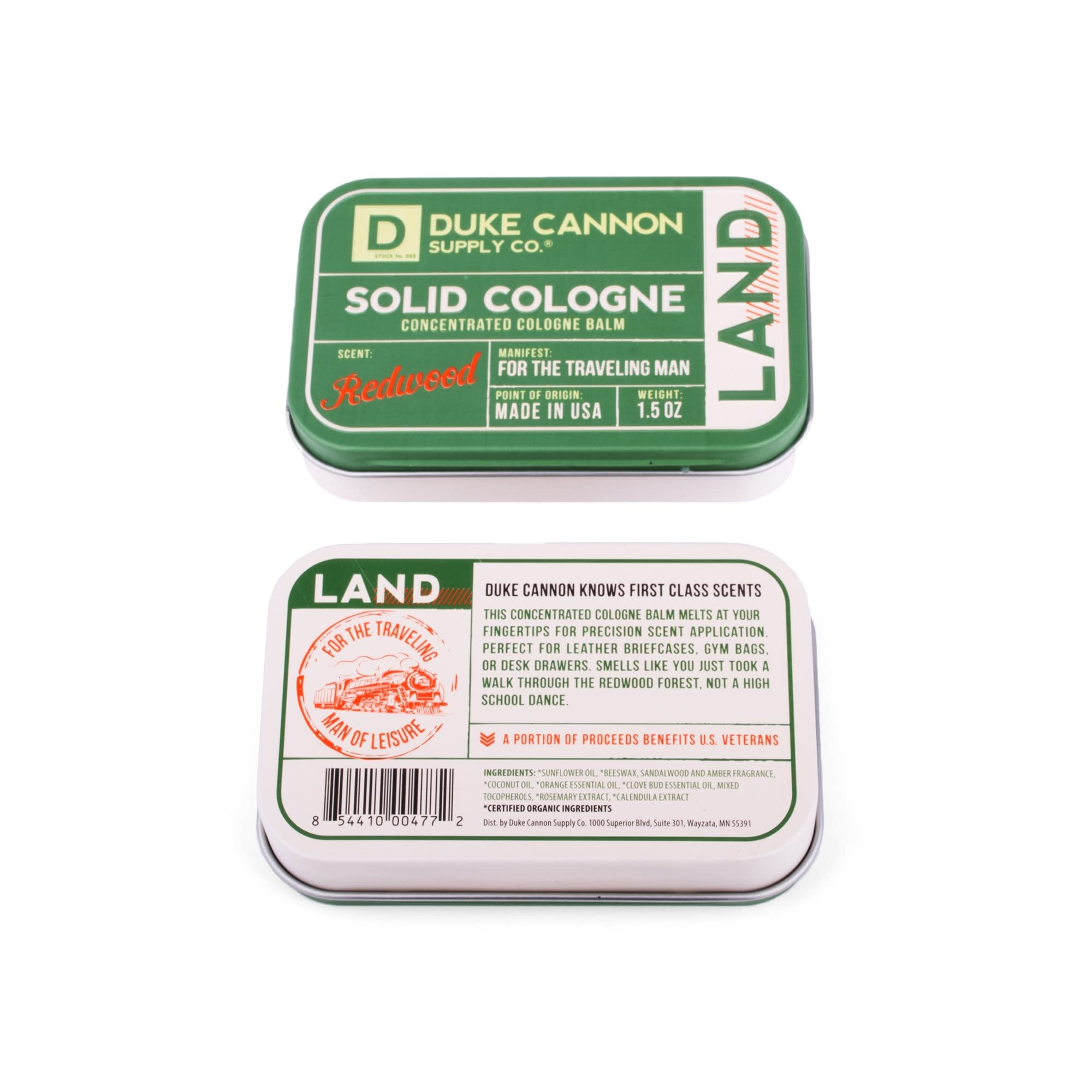 Duke Cannon Solid Cologne Land Murphy S Department Store