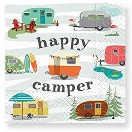 Design Design Happy Camper Napkin-Beverage