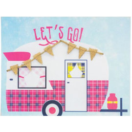 Hanna's Handiworks Let's Go Camping Wall Hanging Assorted  CLOSEOUT/ NO RETURNS