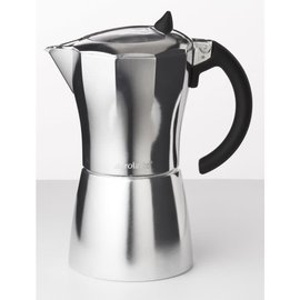 Harold Import Company Inc. HIC Aerolatte MokaVista Espresso Maker 6 Cup