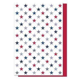 MUkitchen MuKitchen Designer Print Stars Cotton Towel set of 2