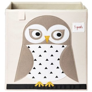3 Sprouts 3 Sprouts Storage Box Owl