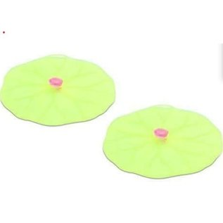 Charles Viancin Charles Viancin Lilypad 4 inch Drink Covers Set of 2