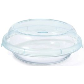 OXO OXO Good Grips Glass Pie Plate with Lid 9 inch