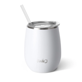 Swig Swig Stemless Wine Cup 14 oz Matte White