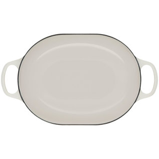 Le Creuset Le Creuset Signature Oval Casserole 3.75 qt White