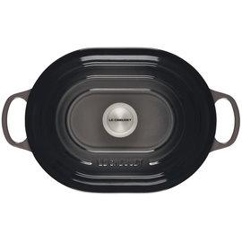 Le Creuset Le Creuset Signature Oval Casserole 3.75 qt Oyster Grey