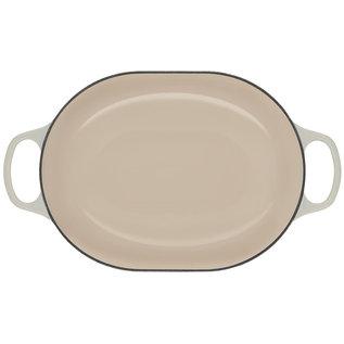 Le Creuset Le Creuset Signature Oval Casserole 3.75 qt Meringue