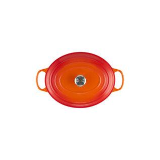 Le Creuset Le Creuset Signature Oval Dutch Oven 9.5 Qt Flame