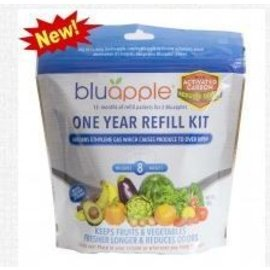 Aureus Product Innovations, Inc. Bluapple One Year Refill Kit with Activated Carbon