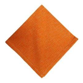 Mahogany USA Mahogany Tuscany Orange Napkins 18 in. x 18 in. set of 4