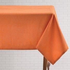 Mahogany USA Mahogany Tuscany Orange Tablecloth 60 in x 90 in.