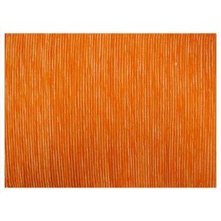 Mahogany USA Mahogany Tuscany Orange Placemats 13 in. x 19 in. set of 4