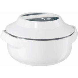OGGI OGGI Microwave Serving Bowl 2.3 Qt. White