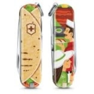 Victorinox Swiss Army Classic SD Pocket Knife Limited Edition Tacos