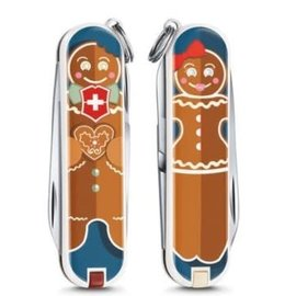 Victorinox Swiss Army Classic SD Pocket Knife Limited Edition Gingerbread Love