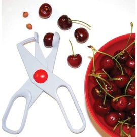 Norpro Norpro Deluxe Cherry, Olive Pitter White Scissors