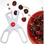 Norpro Norpro Deluxe Cherry, Olive Pitter White Scissors