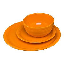 Fiesta Fiesta 3 Piece Placesetting Bistro Butterscotch