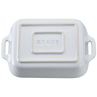 Staub Staub Ceramic Rectangular Baking Dish 7.5 x 6 in White
